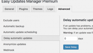 Delay Automatic Updates